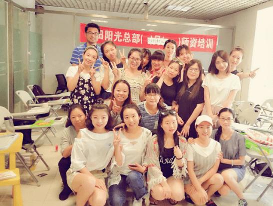 易胜博官方网站阳光总部2017年6月初级培训开班了。