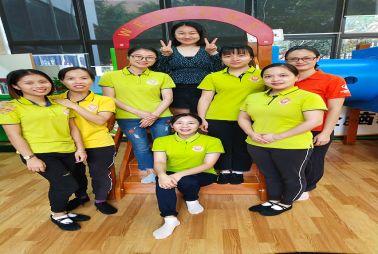 易胜博官方网站阳光南沙中心幼儿课培训分享